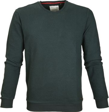 No-Excess Sweater Dark Green