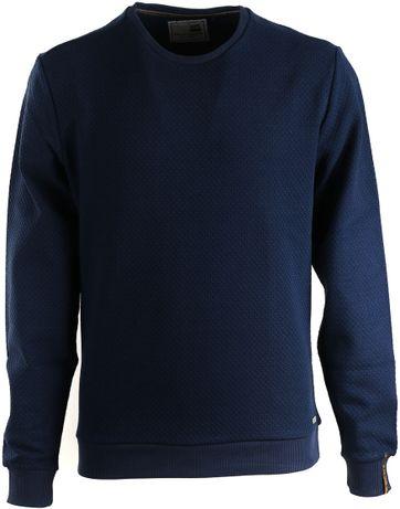 No-Excess Sweater Dunkelblau