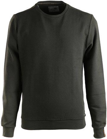No-Excess Sweater Grün