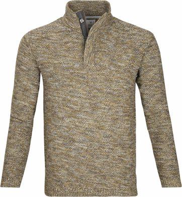 No-Excess Sweater Melange Yellow