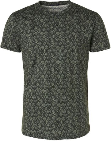 No-Excess T-Shirt Dessin Dark Green