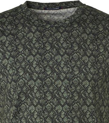 No-Excess T-Shirt Dessin Donkergroen