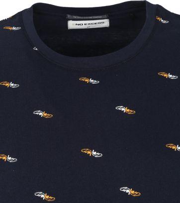 No-Excess T-Shirt Garnalen Donkerblauw