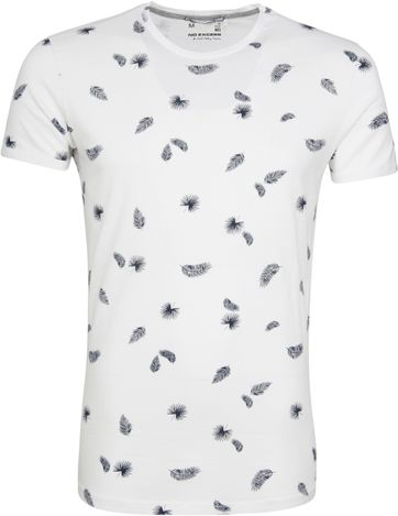 No-Excess T-shirt Palm Print Wit