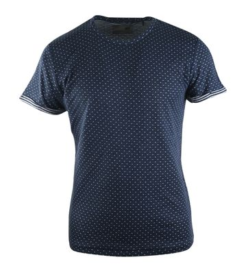 No-Excess Tshirt Dunkelblau Punkt