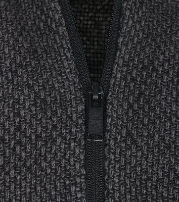 Detail No-Excess Vest Antraciet