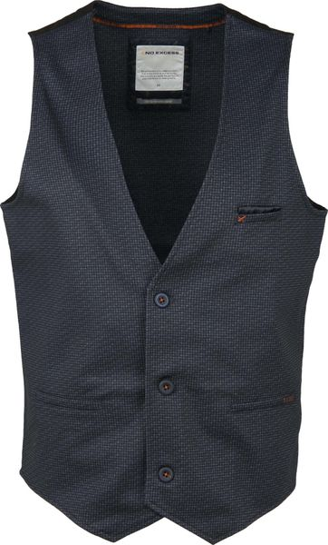 No Excess Waistcoat Unlin Black