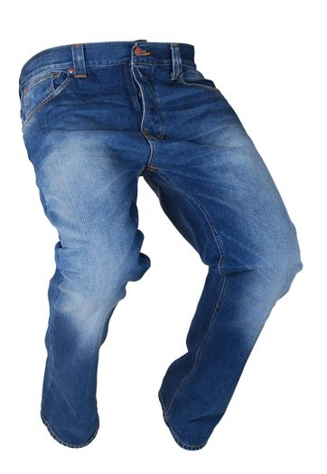 Nudie Jeans Hank Rey Royal Used 1481