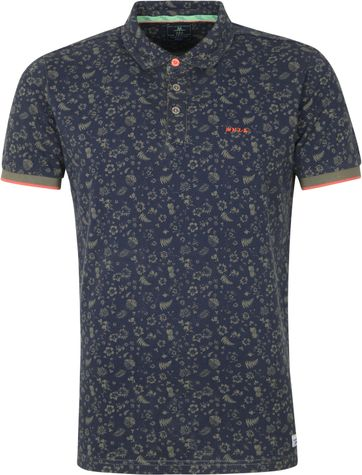 NZA Benmore Polo Shirt Dark Green