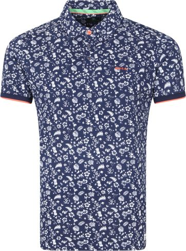 NZA Benmore Polo Shirt Navy