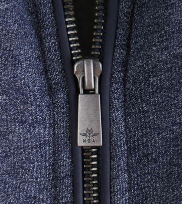 Detail NZA Cardigan Donkerblauw 16MN301