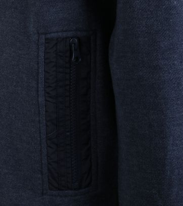 Detail NZA Cardigan Donkerblauw 17AN304