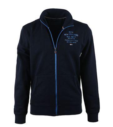 NZA Cardigan Donkerblauw 17BN303