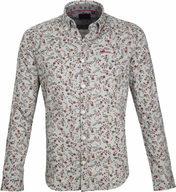 NZA Casual Shirt Grey Flower