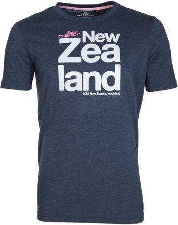 NZA Dampier T-shirt Dunkelblau