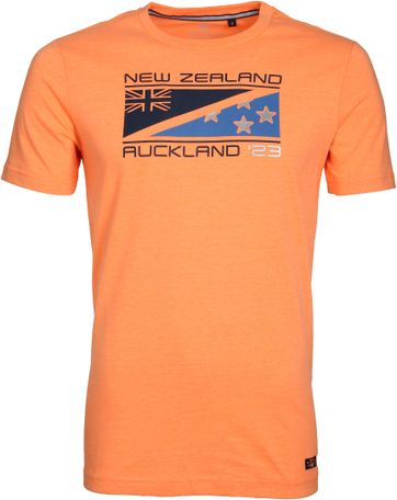 NZA Hapuka T-shirt Neon Orange