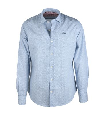 NZA Hemd Blau 16MN506