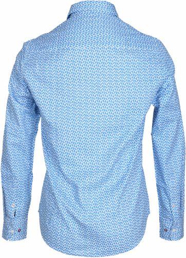 Detail NZA Hemd Jasper Blau drucken