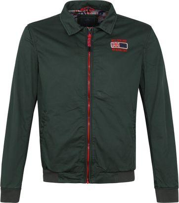 NZA Heron Jacket Dark Green