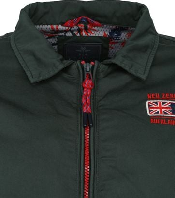 NZA Heron Jacket Dark Green
