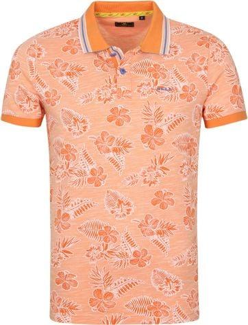 NZA Heron Polo Shirt Orange