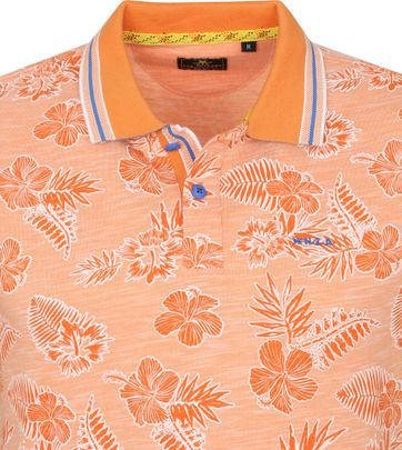 NZA Heron Poloshirt Orange