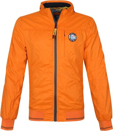 NZA Hewson Jacket Orange