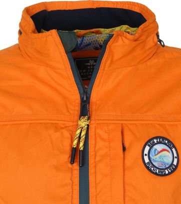NZA Hewson Jacket Orange