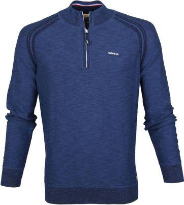 NZA Jackson Zipper Pullover Dunkelblau