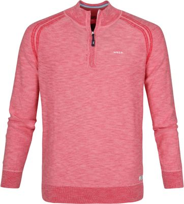 NZA Jackson Zipper Pullover Rot