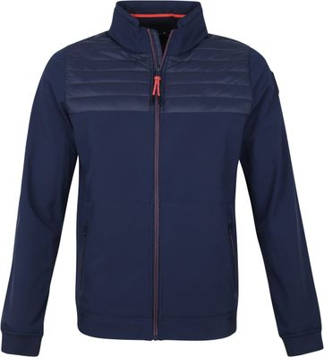 NZA Kahurangi Softshell Jacket Navy