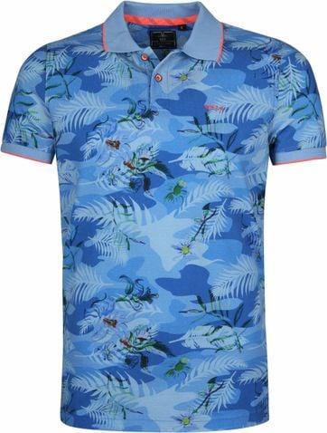 NZA Kaipara Poloshirt Blau