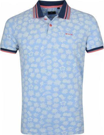 NZA Kaiwara Poloshirt Blau