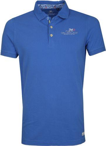 NZA Kakapo Poloshirt Blauw