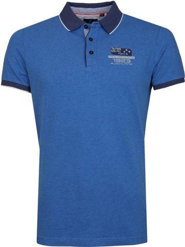 NZA Kakepuku Poloshirt Blau