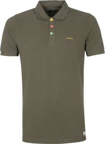 NZA Kerikeri Polo Shirt Dark Green