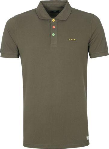 NZA Kerikeri Polo Shirt Dark Green
