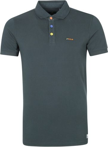 NZA Kerikeri Polo Shirt Moss Green