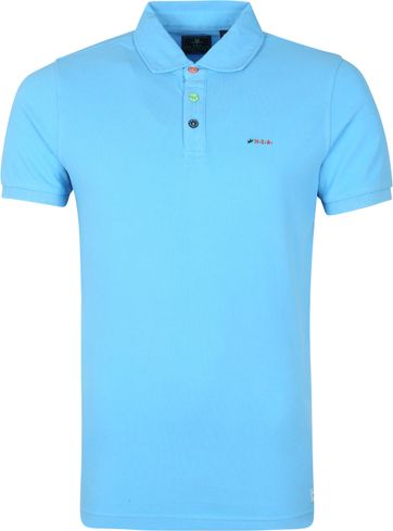 NZA Kerikeri Poloshirt Blau