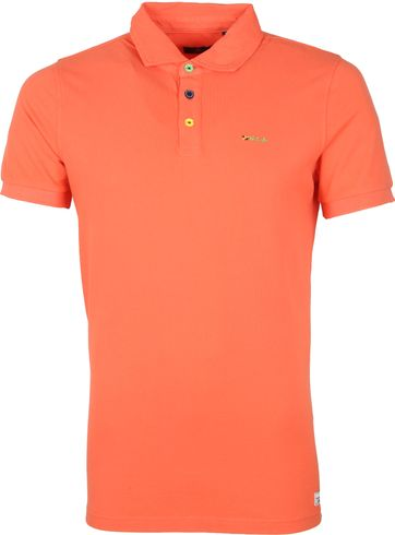 NZA Kerikeri Poloshirt Orange