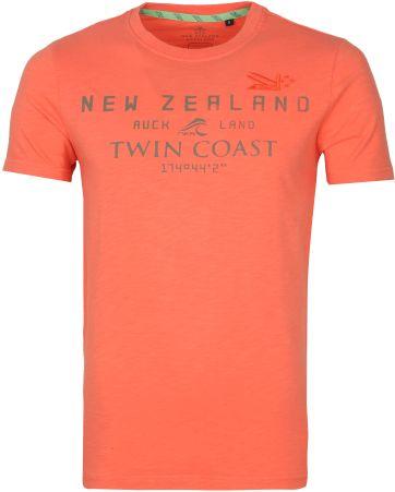 NZA Leeston T Shirt Orange