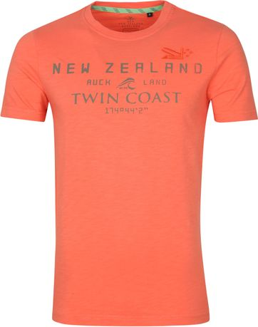 NZA Leeston T-shirt Oranje