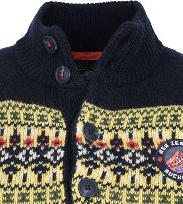 NZA Macarthur Mocker Sweater Dunkelblau
