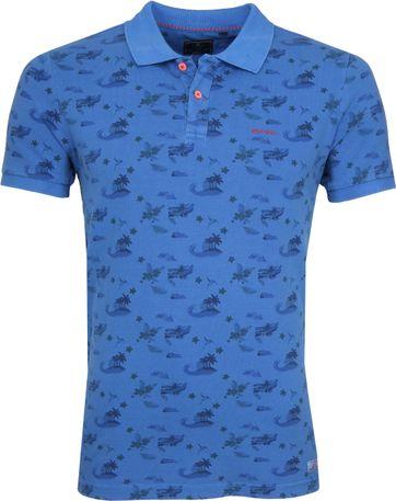 NZA Mangatu Poloshirt Blau
