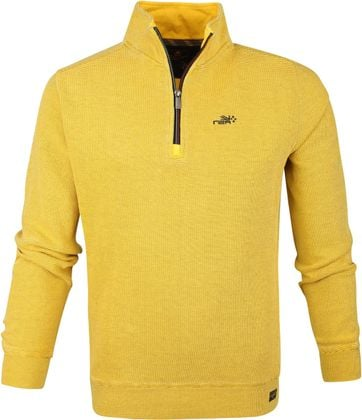 NZA Mangawhai Half Zip Sweater Yellow