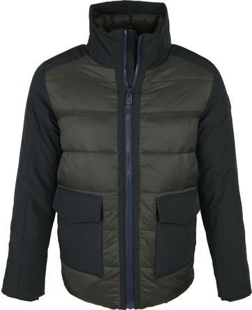 NZA Masterton Jacket Dark Green