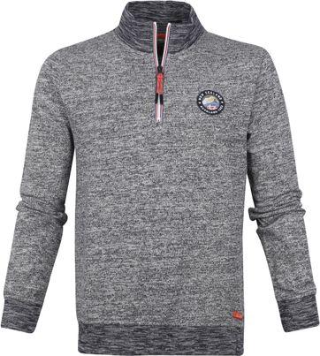 NZA Maunganui Half Zip Sweater Dunkelblau