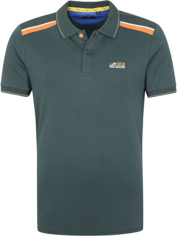 NZA Medina Polo Shirt Dark Green
