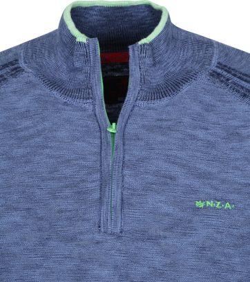 NZA Methven Half Zip Pullover Blue