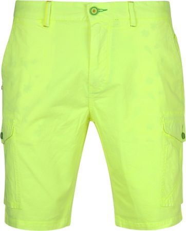 NZA Mission Bay Short Fluor Gelb
